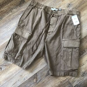 Vince brown cargo shorts
